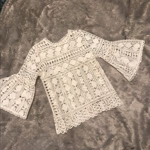 Tops - Gorgeous Lace Bell Sleeve Top